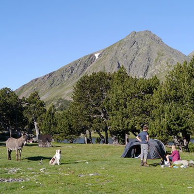 Faites du camping sauvage aux Camporells