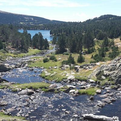 Découvrez les lacs des Camporells