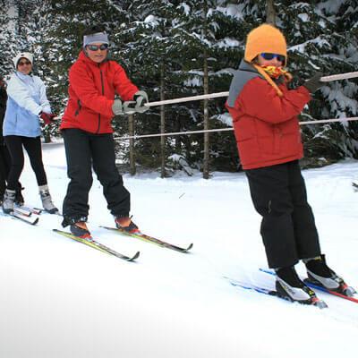 Pratiquez le ski de fond en famille à Formiguères