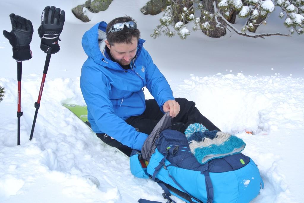 préparation ski de randonnée