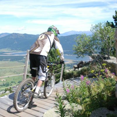 Le Bike Park des Angles vous accueille tout l'été
