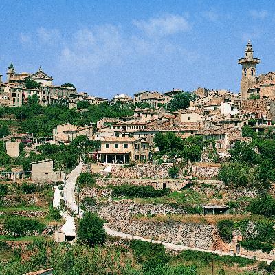 La magnifique ville de Valldemossa