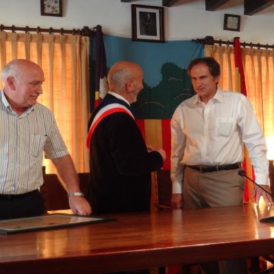 Délégation de Formiguères en visite à Valldemossa