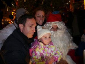 Insta calin avec le Père Noël