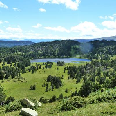 La randonnée du Lac d'Aude dans le site classé des Bouillouses