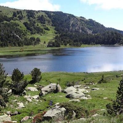 Le lac d'Aude, un cadre préservé et chatoyant