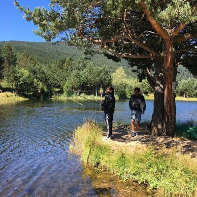 sentier d'interprétation des paysages du Capcir, au départ du lac de l'Olive